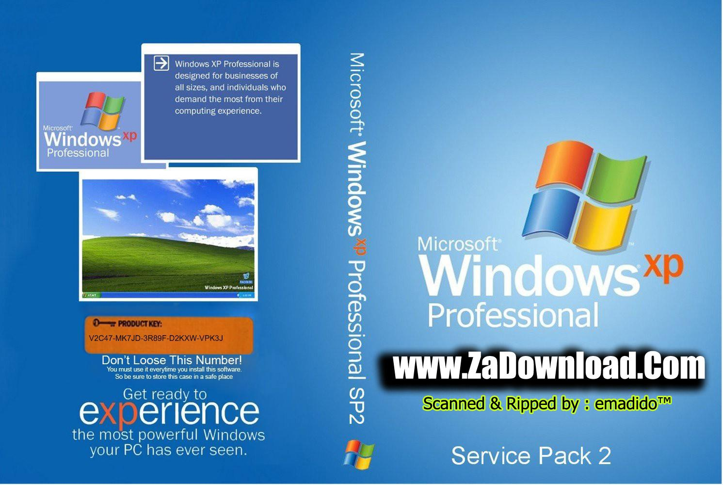 Windows XP Professional with Service Pack 2 VL (Russian) Integrated